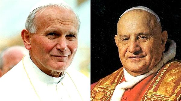 Giovanni XXIII e Giovanni Paolo II: due papi santi, due santi mariani